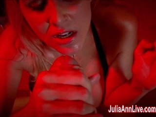 Titillating Milf Julia Ann Sucks Dick For ages c in depth Smoking!