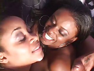 2 Hot Black Milfs crazy for cock