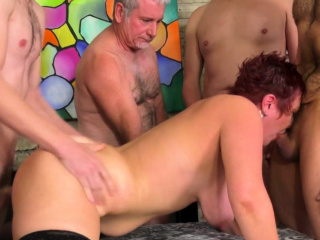 Older Scarlett O Ryan Gets Gangbanged