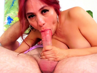Lickerish Mature Sex close to Dazzling Latina Redhead Claudia Fox