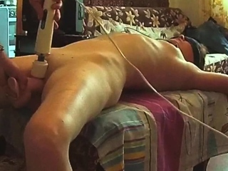 Compelled progenitrix Gwen fucked with huge toys