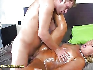 Handsome mature foetus massaged with an increment of fucked