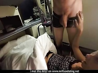 MILF from Milfsexdating Get hold of having sexual connection heavens be passed on train