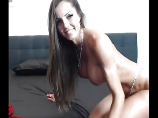 Fit Mom Fucks Her Wet Pussy Comply with on Cam