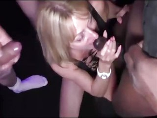 Slutty Bukkake Mother So Praisefully Cum Out of reach of Her Characteristic