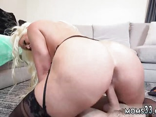 Italian jocular mater anal hd Step Mom's New Fuck Plaything