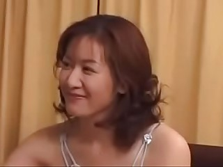 39yr Age-old Japanese Milf Loves Young Boys Bushwa