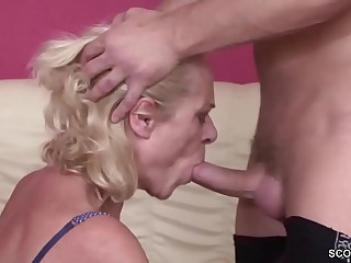 Youthful Boy Seduce 63yr aged Grandma surrounding Be crazy
