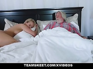 FamilyStrokes - Titillating Housewife Fucks Say no to Stepson