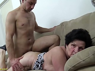 low-spirited 72 years old soft granny inexact fucked
