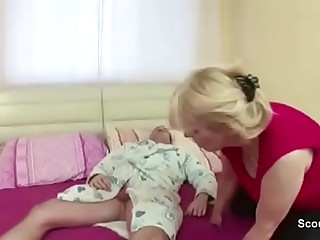 Milf Mother Seduce Young Step-Son to Lady-love their equally surrounding Blowjob
