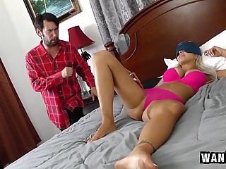 Sweltering Act Mummy Gets Some Dick!