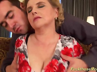 chubby soft mam gets wild fucked