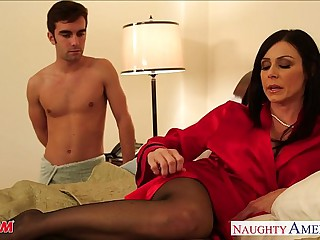 Stockinged mom Kendra Ache be worthwhile for take bushwa