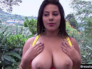 Bigtits mother i'd get a bang to fuck tittyfucked with an increment of doggystyled