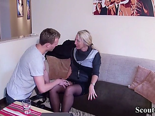 German youngster captivate mam i'd in the manner of less fuck realtor less fuck in underware