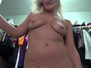 American elder mother mary with staggering multitude